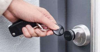 Elektronisches Türschloss Test