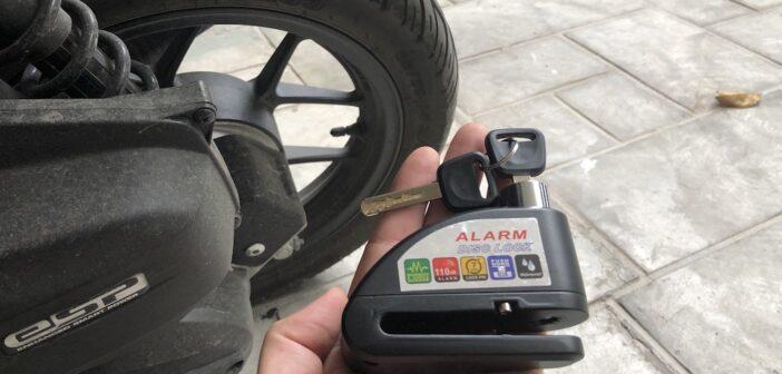 Motorrad Bremsscheibenschloss Test und Ratgeber